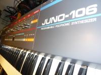Roland Juno-106 Front Panel
