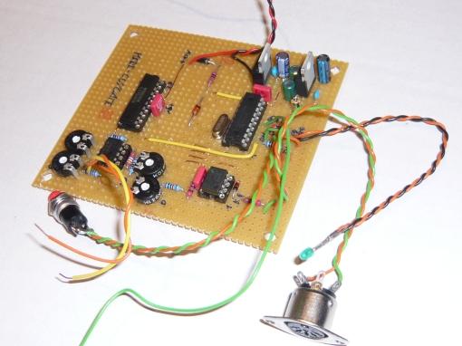 Midi_CV Converter Prototype