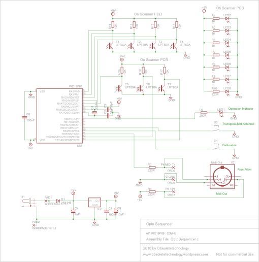 Schematic Opto Sequencer