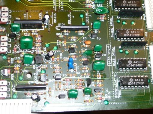 TR-909 Bassdrum Circuit