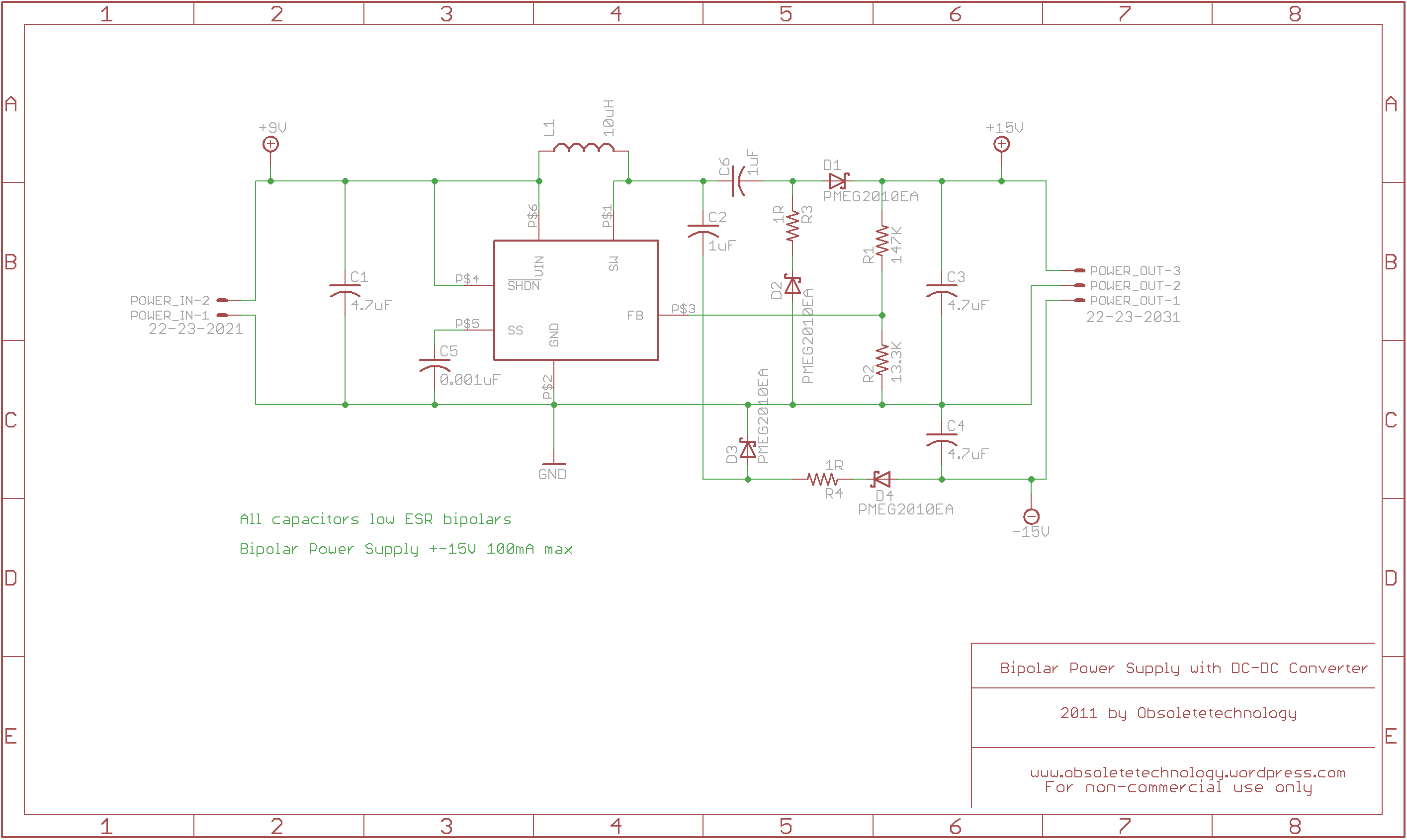 15v Power Supply Circuit Diagram 15v Power Supply With Dc-dc