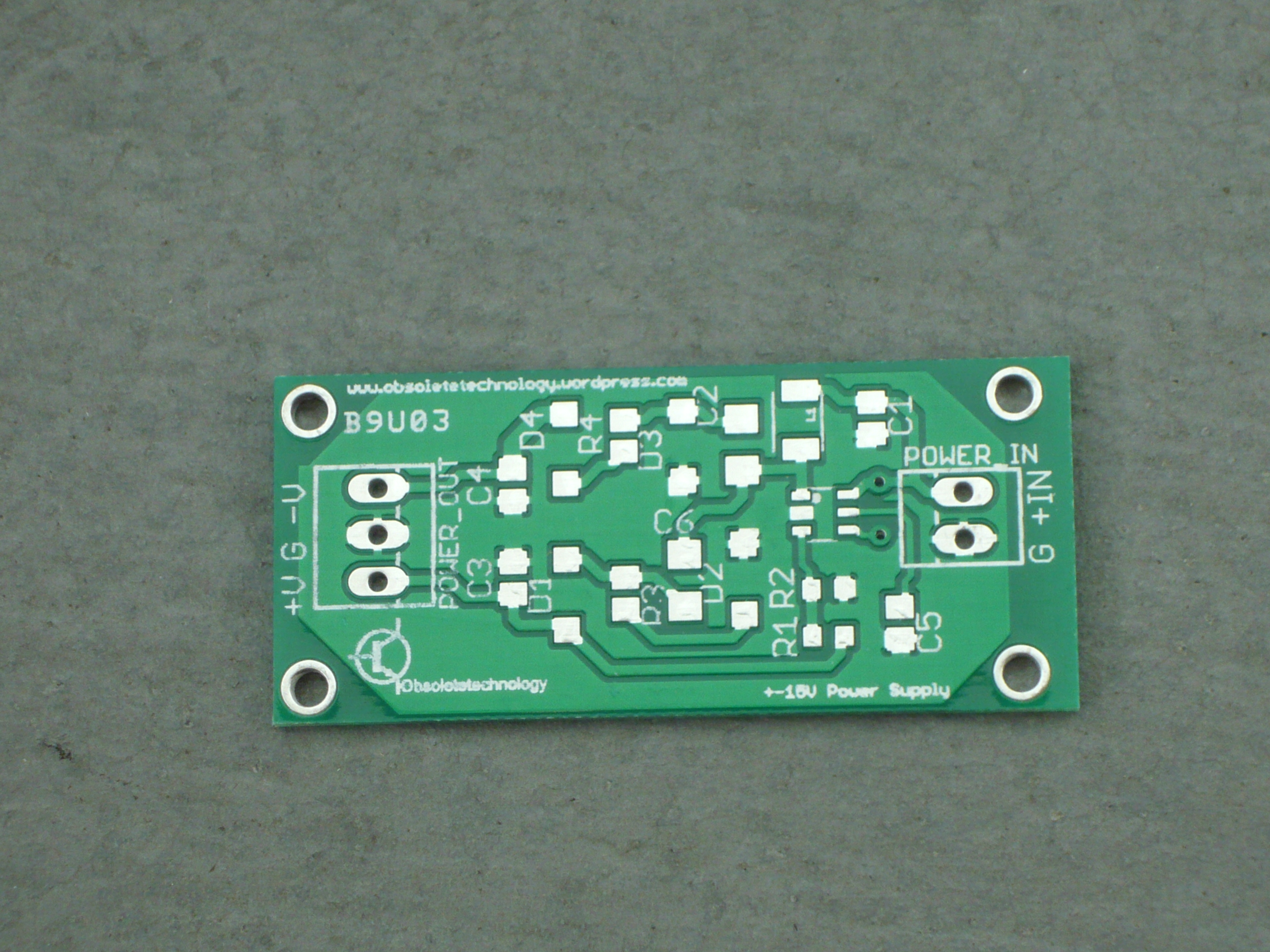 DC-DC Bipolar Power Supply for Effect Pedals | Obsoletetechnology