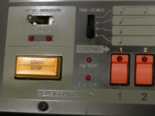 TR-808 Start Stop