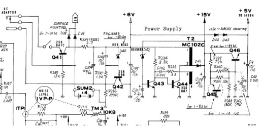 TR606 Power Supply_Schematic