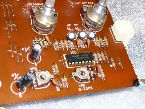 Yamaha C5 VCF - VCA Board VCF Stage #2