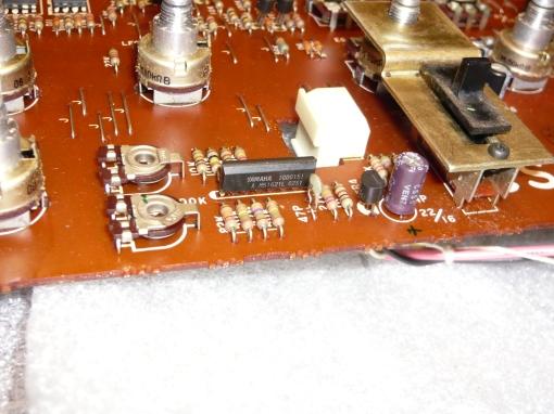 Yamaha C5 VCF - VCA Board VCA Stage #2