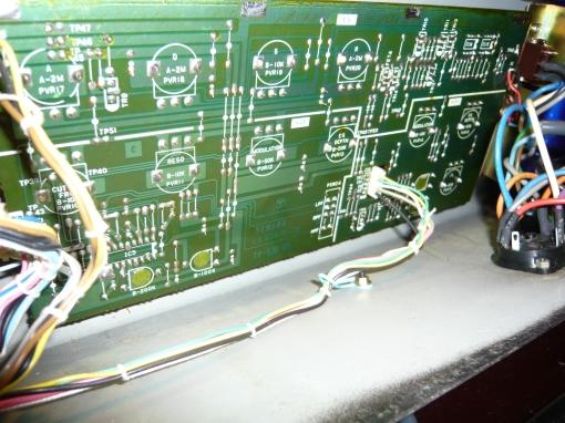 Yamaha CS5 VCF-VCA Board