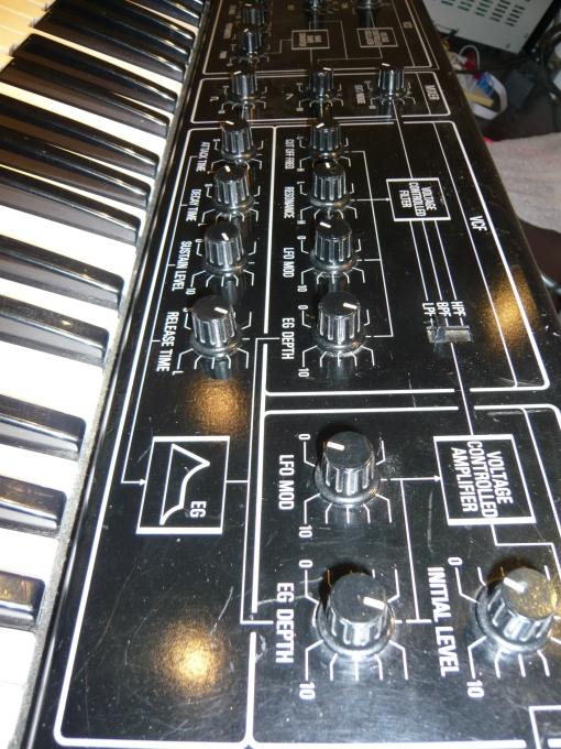Yamaha C5 Frontpanel #2