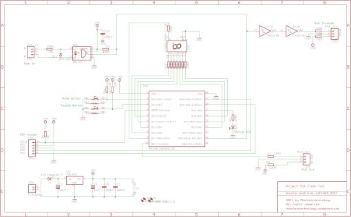 Midi Filter Schematic