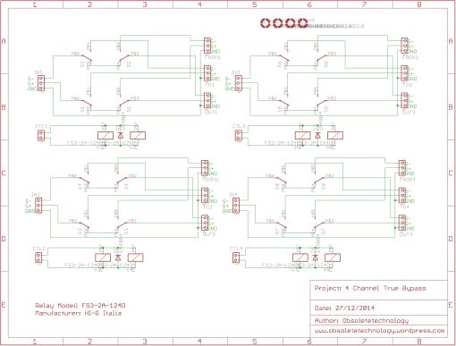 4Ch true bypass module schematic