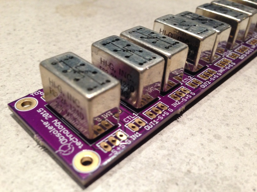 4 Channel true bypass module